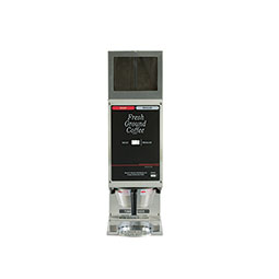Food Service Coffee Grinder. (2) 5.5 lbs. hoppers. Single portion each side.