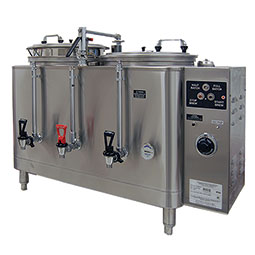 Midline Heat Exchange Urn. (2) liners, 3 gallons each.