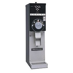 Retail Coffee Grinder. Black with European slicing burrs for precision grinding. 3 lbs. hopper.