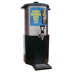 TB Series Iced Tea Dispensers. 3 gallon capacity.