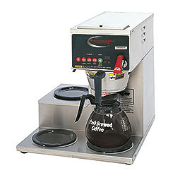 PrecisionBrew Digital Decanter Brewer. Single, digitally controlled decanter brewer. Warmers: 1 bottom, 2 on the left side