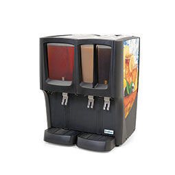 Crathco  G-Cool Premix Cold Beverage Dispenser. Focus Flavor. (1) 5 gallon bowl and (2) 2.4 gallon bowls.