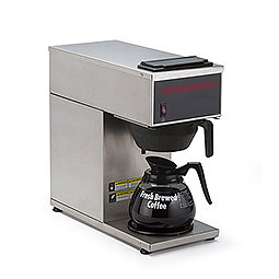 Portable Pourover Coffee Brewer. Warmers: 1 bottom.