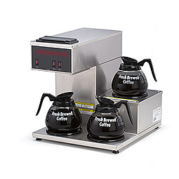 Portable Pourover Coffee Brewer. Warmers: 3 total: 1 right top, 1 bottom,