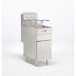 Floor Model Gas Fryer.