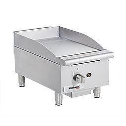 Medium Duty Gas Griddle. Cooking surface 15 x 20. 1 burner.