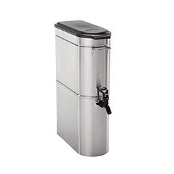 Stainless Steel Iced Tea Dispenser. Tomlinson front valve w PT.