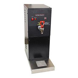 Hot Water Dispenser. Black, 2 gallon.