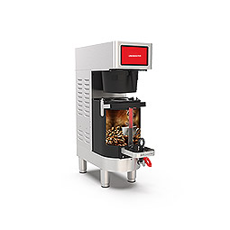 PrecisionBrew Air-Heated Shuttle. Single digitally controlled brewer with virtual sight glass
