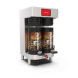 PrecisionBrew Vacuum Shuttle. Twin digitally controlled brewer for use with vacuum shuttle without stands
