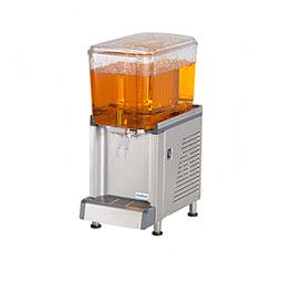 Simplicity Bubbler® Premix Cold Beverage Dispenser. (4) 2.4 gallon bowls, agitator model.