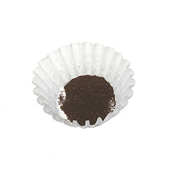Filter paper. 500 per box. Use with A71431, ABB1.5P - plastic brew basket, ABB1.5SS - stainless steel brew basket, TB3 tea brewer w/ plastic funnel, Half-batch brew basket ABB3-1.5