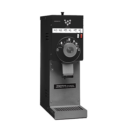 Retail Coffee Grinder. Black with 1.5 lbs. hopper.