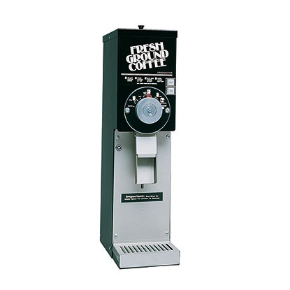 Retail Coffee Grinder. Black with 3 lbs. hopper.