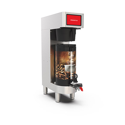 PrecisionBrew Vacuum Shuttle. Single digitally controlled brewer for use with vacuum shuttle without stand