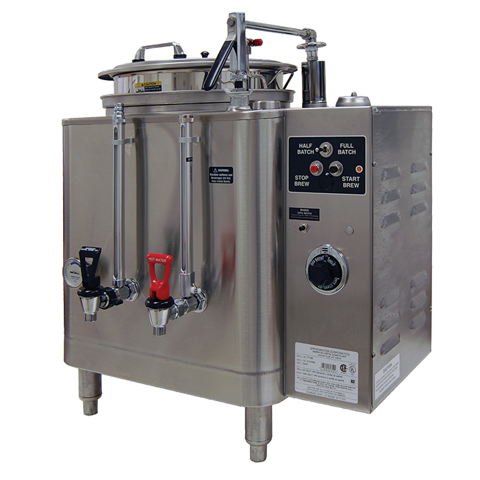 Midline Heat Exchange Urn. (1) 6 gallon liner.
